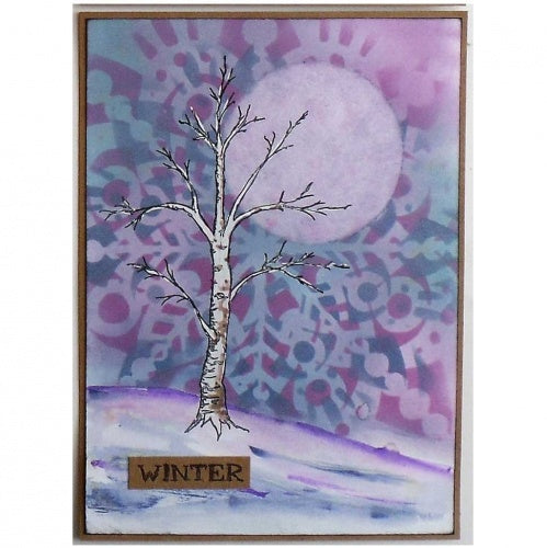 That's Crafty! - Melina Dahl - Clear Stamp Set - Melina's Tree and Leaves
