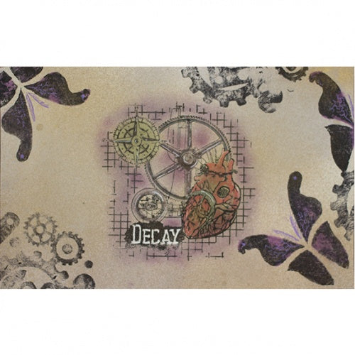 That's Crafty! - Clear Stamp Set - Urban Decay - Random Artist 222