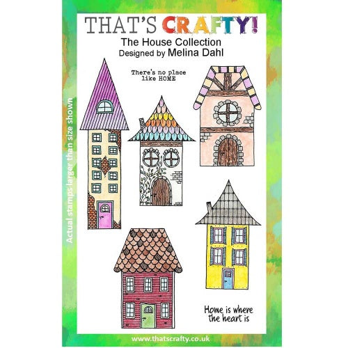 That's Crafty! - Melina Dahl - Clear Stamp Set - The House Collection