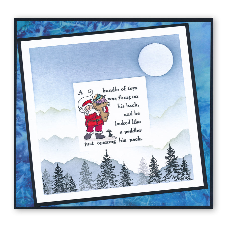 Claritystamp - Clear Stamp - A6 - Twas the Night Before Christmas - A Bundle of Toys