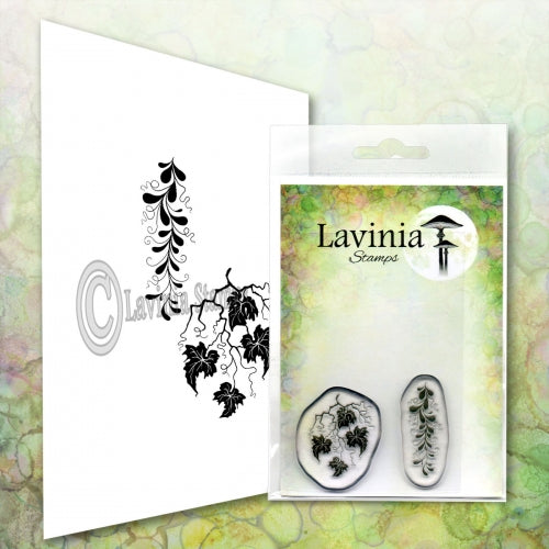 Lavinia -  Twisted Vine Set - Clear Polymer Stamp