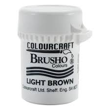 Colourcraft - Brusho Crystal Color - Light Brown