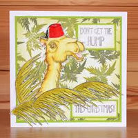 Hobby Art Stamps - Clear Polymer Stamp Set - A5 - Camel ye Faithful