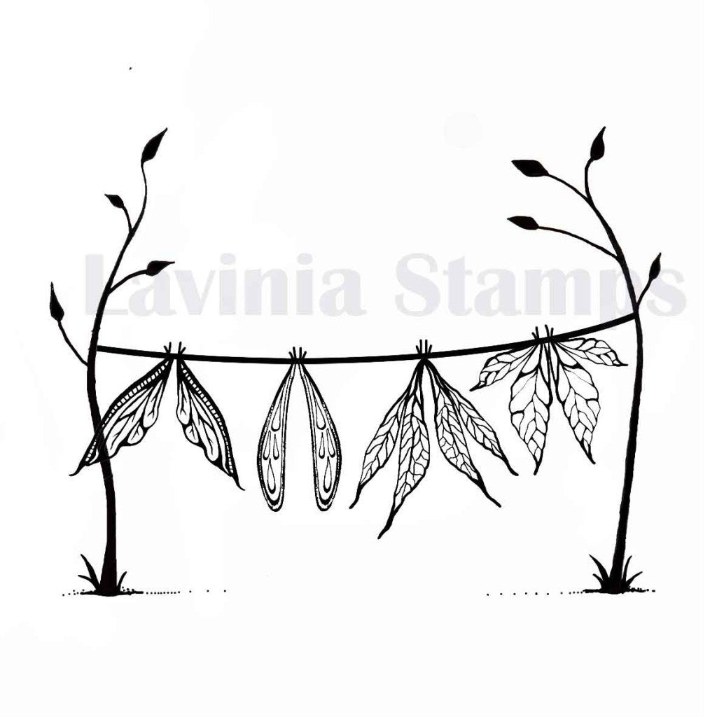 Lavinia - Wet Wings - Clear Polymer Stamp