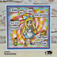Visible Image - Alice in Wonderland - Clear Polymer Stamp Set