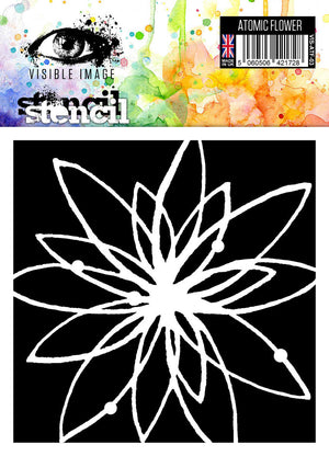Visible Image - Atomic Flower - Stencil