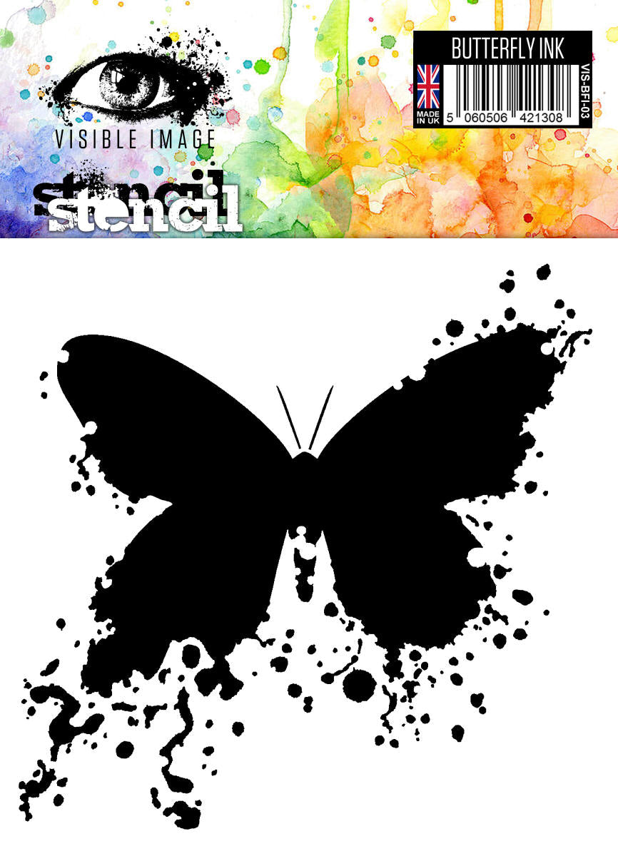 Visible Image - Butterfly Ink - Stencil