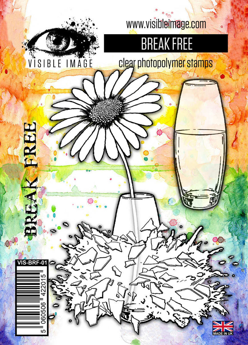Visible Image - Break Free - Clear Polymer Stamp Set