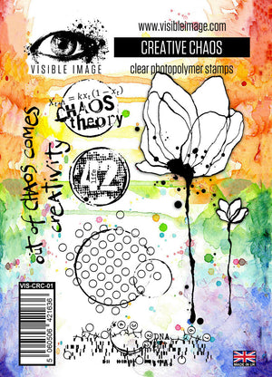 Visible Image - Creative Chaos - Clear Polymer Stamp Set