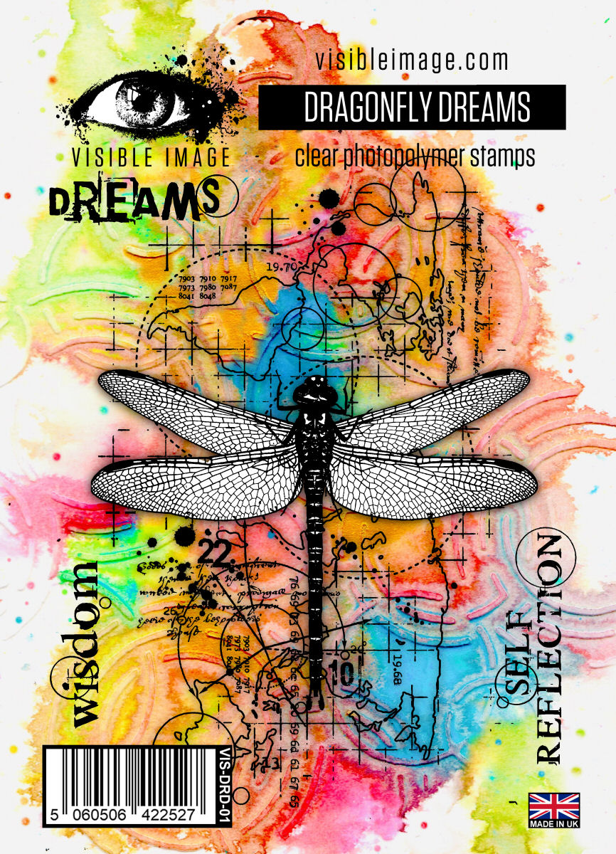 Visible Image - Dragonfly Dreams - Clear Polymer Stamp Set
