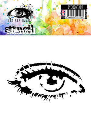 Visible Image - Eye Contact - Stencil