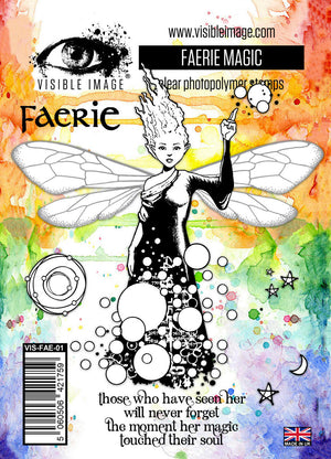 Visible Image - Faerie Magic - Clear Polymer Stamp Set