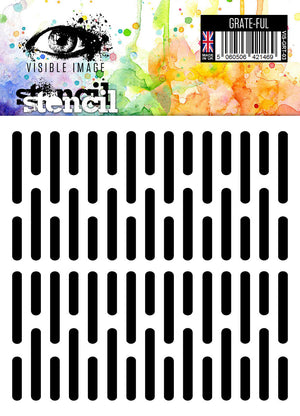 Visible Image - Grate-ful - Stencil