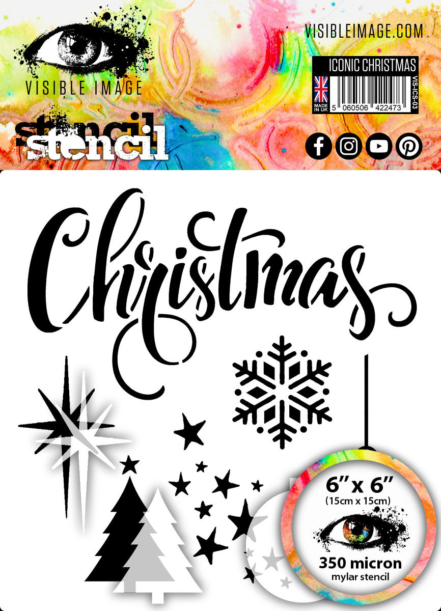 Visible Image - Iconic Christmas - Stencil