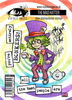Visible Image - Alice in Wonderland - The Mad Hatter - Clear Polymer Stamp Set - PREORDER