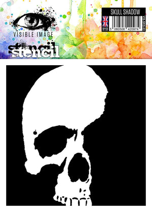 Visible Image - Skull Shadow - Stencil
