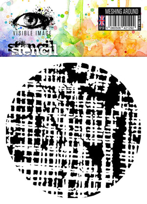 Visible Image - Meshing Around - Stencil