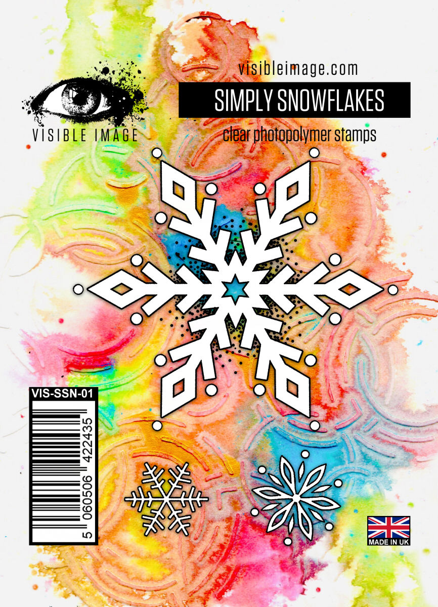 Visible Image - Simply Snowflakes - Clear Polymer Stamp Set