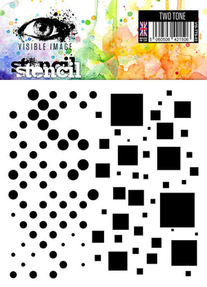 Visible Image - Two Tone - Stencil