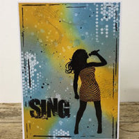 Visible Image - SING - Clear Polymer Stamp Set