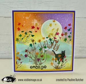 Visible Image - Organics - Clear Polymer Stamp Set