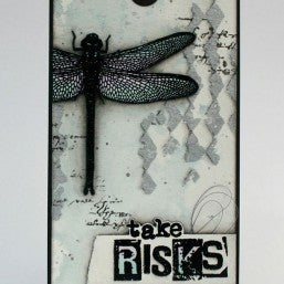 Visible Image - Just Be Happy - Clear Polymer Stamp Set