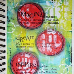 Visible Image - Imagine Dream Inspire - Clear Polymer Stamp Set