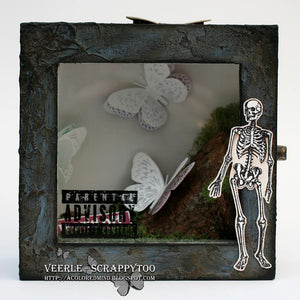 Visible Image - Mr. Bone Jangles - Clear Polymer Stamp Set