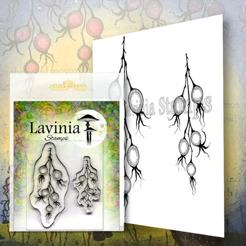 Lavinia - Winter Berries - Clear Polymer Stamp