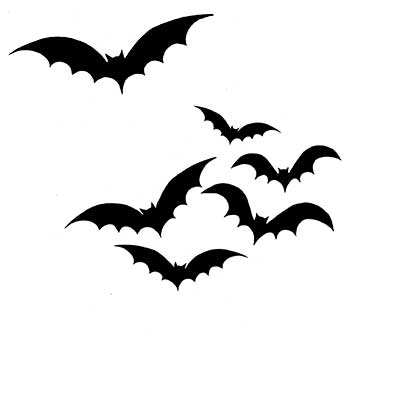 Lavinia - Bats - Clear Polymer Stamp