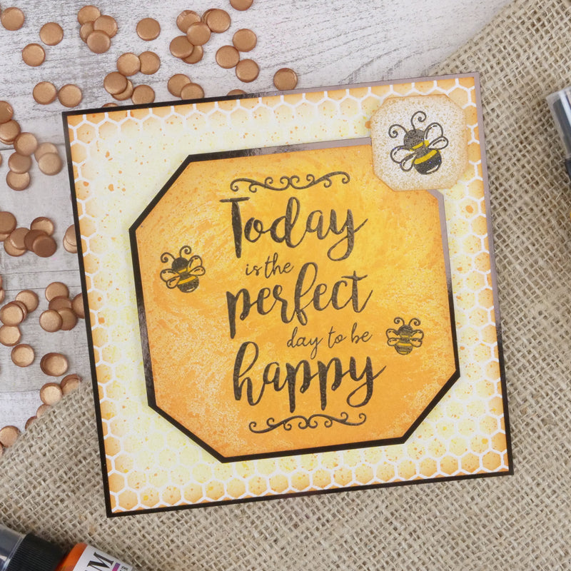 For the Love of Stamps - Clear Stamp - Today is The Perfect Day...