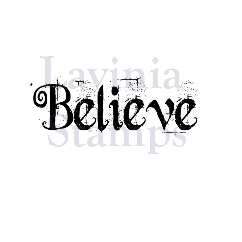 Lavinia - Believe - Clear Polymer Stamp