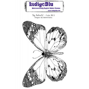 IndigoBlu - Cling Mounted Stamp - Big Butterfly