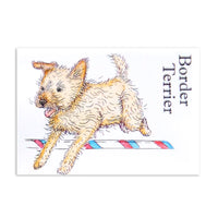For the Love of Stamps - Dog - Border Terrier