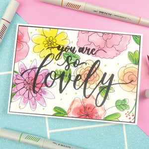 Hunkydory - Prism Brush Markers - Berry Burst