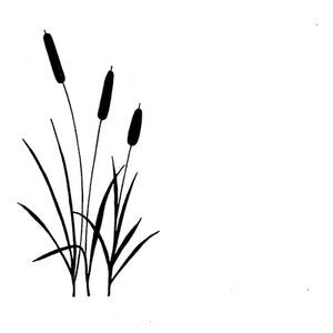 Lavinia - Bulrushes - Clear Polymer Stamp