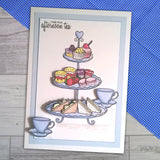 For the Love of Stamps - Afternoon Tea