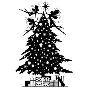 Lavinia - Christmas Eve - Christmas Tree - Clear Polymer Stamp