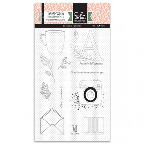 Sokai - Clear Stamp Set - A6 - So Fall - The Heart of Autumn