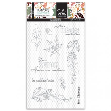 Sokai - Clear Stamp Set - A6 - So Fall - Here Comes Fall