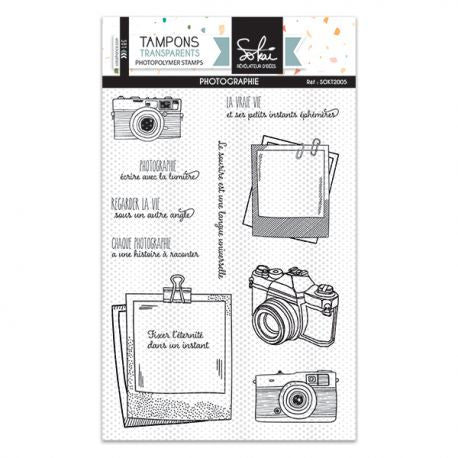 Sokai - Clear Stamp Set - A6 - So Special - Photography