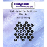 IndigoBlu - Cling Mounted Stamp - Collector's Edition No. 14 - Bubblewrap