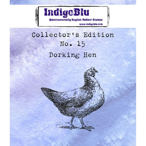 IndigoBlu - Cling Mounted Stamp - Collector's Edition No. 15 - Dorking Hen