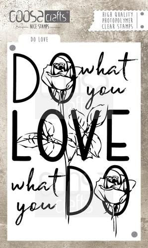 Coosa Crafts - Do What You Love - Clear Polymer Stamps