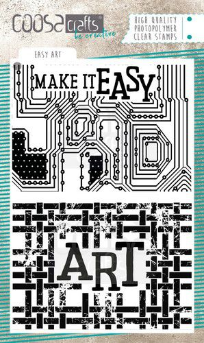 Coosa Crafts - Easy Art - Clear Polymer Stamps