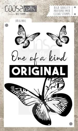 Coosa Crafts - Butterfly Original - Clear Polymer Stamps