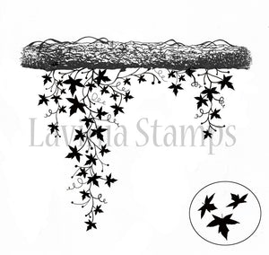 Lavinia - Creeping Vine - Clear Polymer Stamp