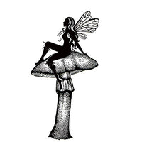 Lavinia - Daydreaming Silhouette - Clear Polymer Stamp