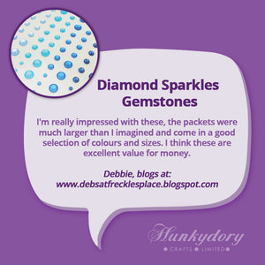 Hunkydory - Diamond Sparkles Gemstones - Festive Selection