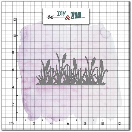 DIY & Cie - Dies - Border of Bulrushes
